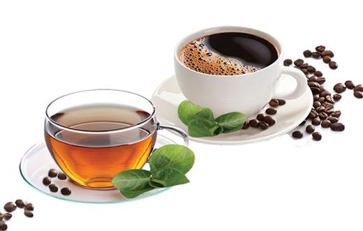 可以轻松获胜:一杯茶的咖啡因含量(40毫克)大约只有标准杯过滤咖