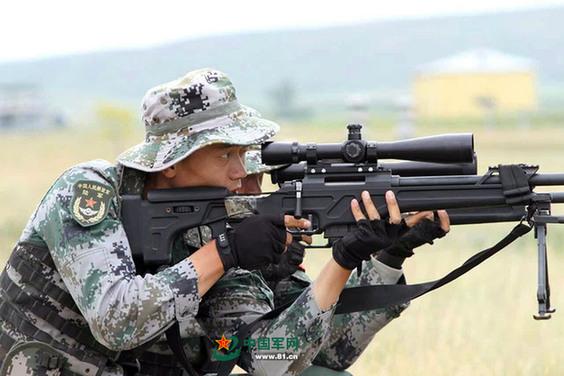 使用国产狙击武器 中国特种部队在国际狙击手竞赛中打出最好成绩