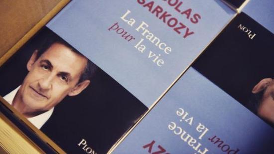 萨科齐通过新书宣布将参加明年法国总统大选