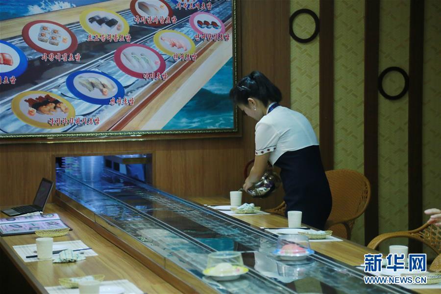 探访朝鲜首家寿司专门餐厅