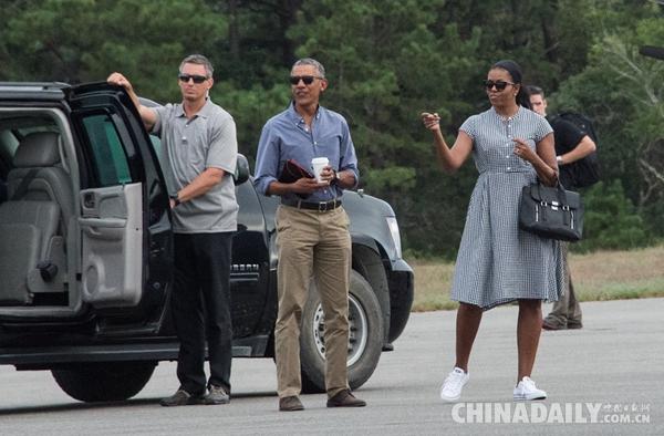 上任8年 奥巴马一家度假花费超8500万美元
