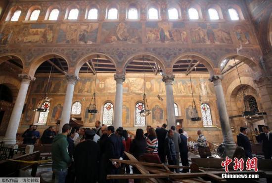 埃及开罗遭遇恐怖袭击已致25人死亡 安理会谴责