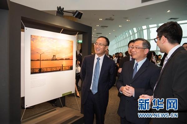 中国-东盟25周年摄影展在新加坡开幕