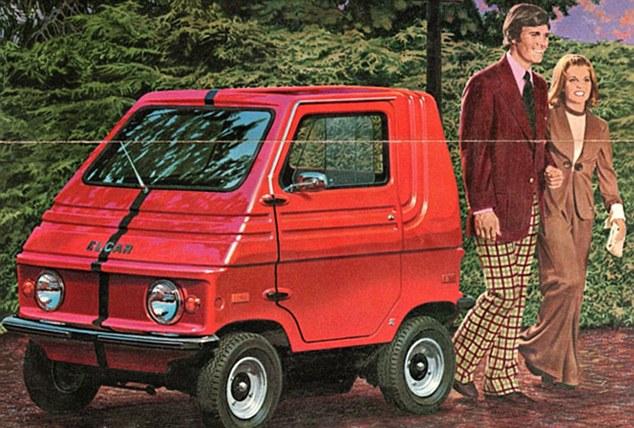 忘了特斯拉 上個世紀的電動汽車如此 古怪高清圖片