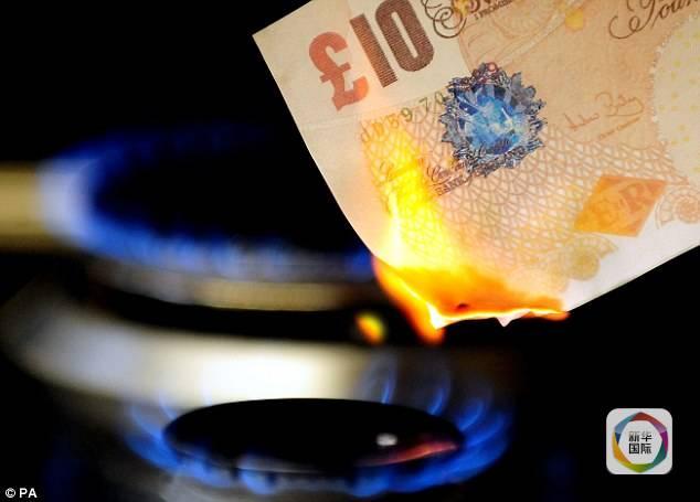 """英政府""""烧钱""""能力惊人 每秒浪费87英镑"""
