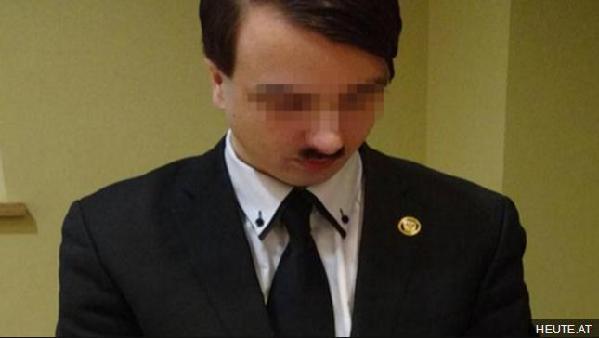 招摇过市 奥地利一男子扮希特勒推广纳粹被捕