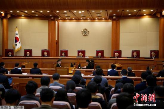 韩宪法法院24日终审总统弹劾案 特检组申请延长调查期限