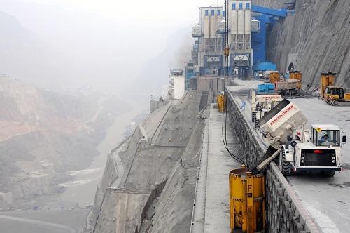英媒看中国金沙江溪洛渡水电站:世界最壮观大坝