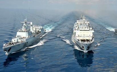 中方已派出25批护航编队 为6300余艘船舶护航