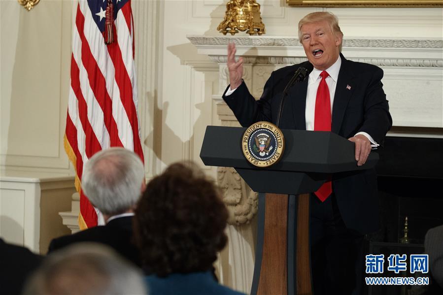 特朗普宣布将增加国防预算 约增540亿美元