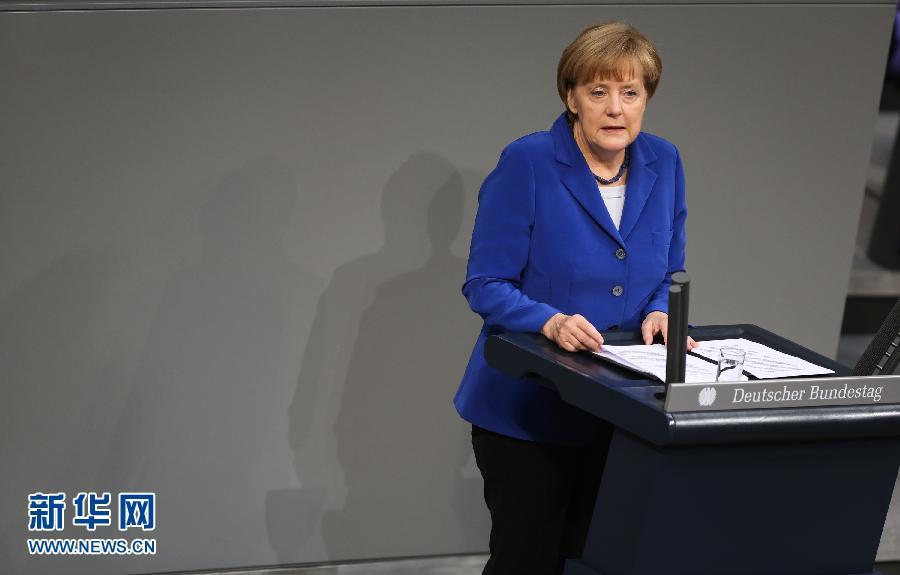"""德总理默克尔将就大众""""排放门""""丑闻作证"""