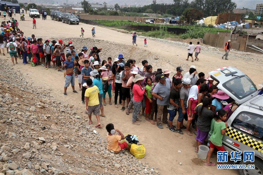 """(国际)(5)""""沿海厄尔尼诺""""导致秘鲁暴雨成灾"""