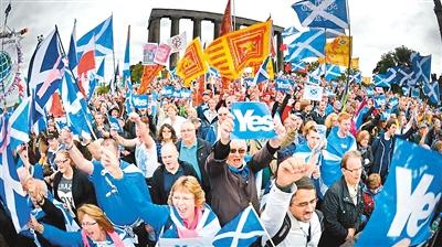 """苏格兰再打""""脱英牌""""意欲何为"""