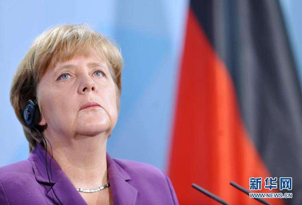 """德国大选""""前哨战""""轻松获胜 默克尔或四连任"""