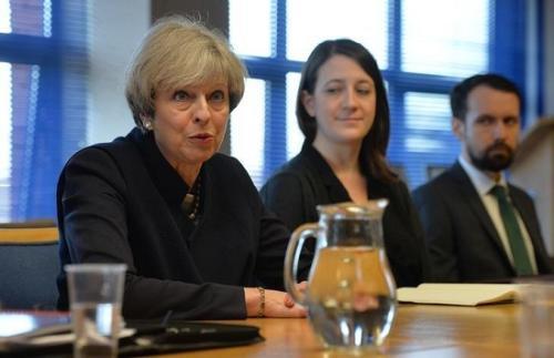 特蕾莎·梅:英国将于10月举行大型反恐演练