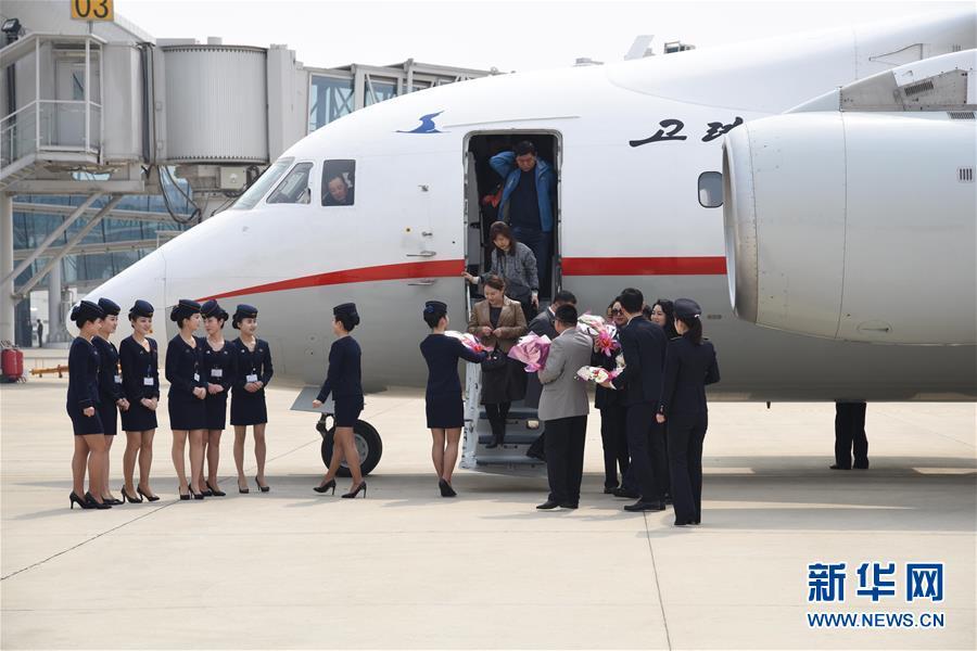 (国际)(1)平壤-丹东国际包机航线正式开通