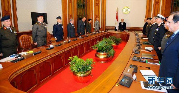 (外代一线)(2)埃及总统塞西宣布埃及将进入紧急状态
