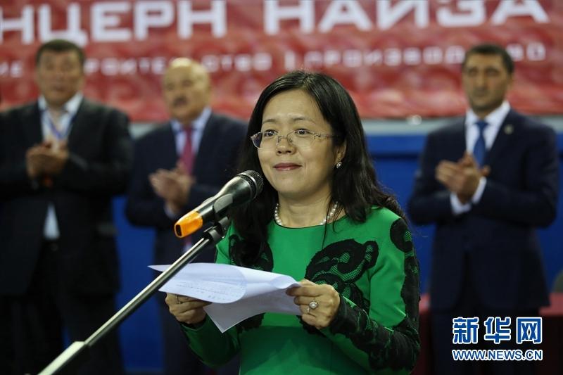 哈萨克斯坦武术锦标赛在阿斯坦纳举行(组图)