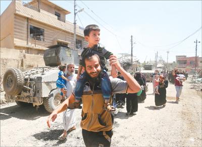 伊拉克反恐战争取得重要进展