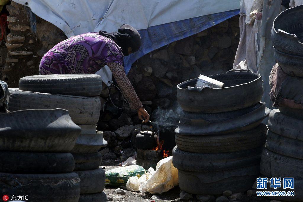 联合国:也门霍乱已致209人丧生 超300万人因战乱流离失所(组图)