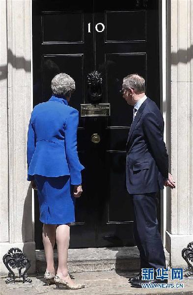 (国际)(3)英国保守党将与民主统一党组建联合政府