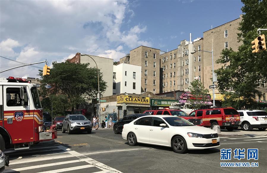 (国际)美国纽约一所医院发生枪击事件