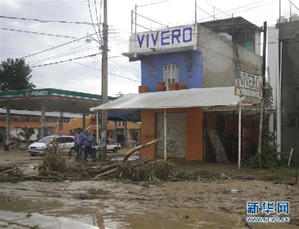 (国际)(1)墨西哥地震遇难人数上升至32人