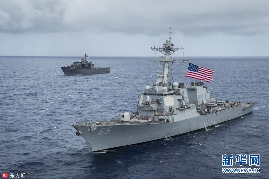 """美国海军第7舰队又""""中招"""" 与日本拖船发生碰撞!"""