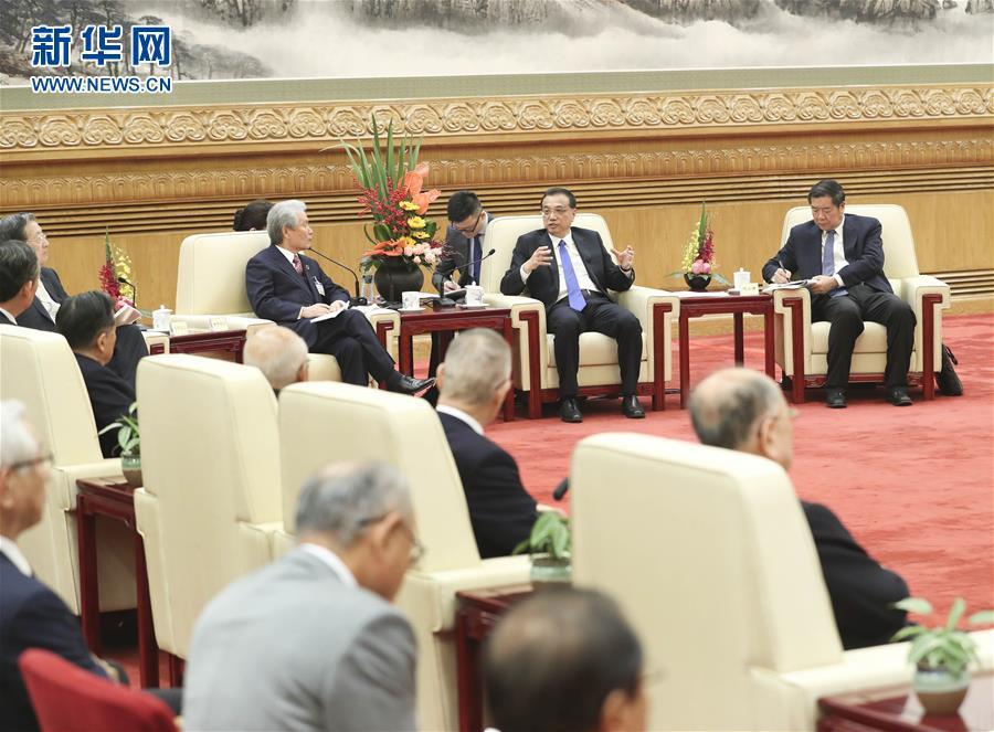 (时政)李克强会见日本经济界代表访华团
