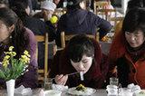 朝鮮舉行全國烹飪大賽 市民品嘗美食