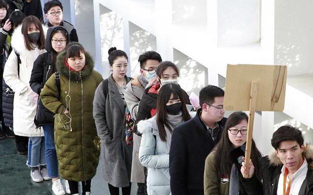 北京电影学院2017年度招生考试开始 青春的容颜图片