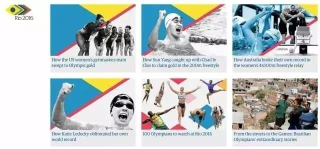 大数据+新闻,看外媒报道里约奥运有什么新花样?