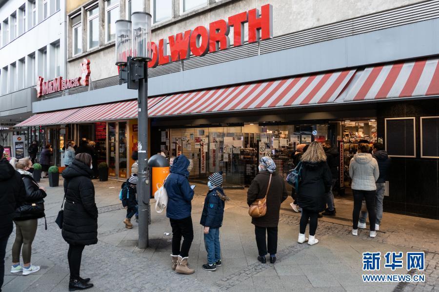 疫情下的柏林:部分商店有条件恢复营业