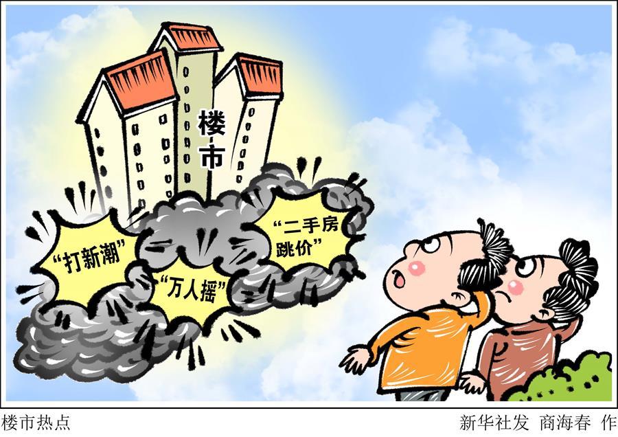 (图表·漫画)[财经探讨·稳健开局·热点怎么看]楼市热点