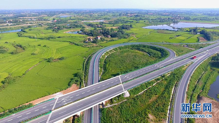 【沿着高速看中国】武荆高速连通江汉平原腹地