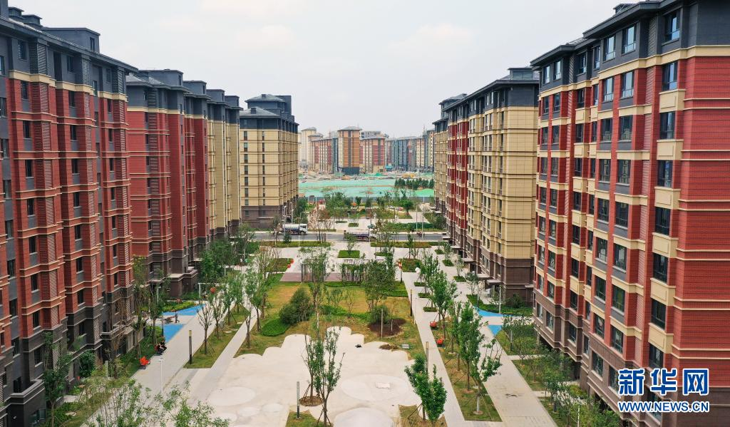 探访河北雄安新区首批安置房 预计可回迁居民1.65万人