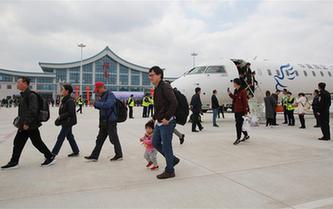 甘肃陇南成县机场正式通航