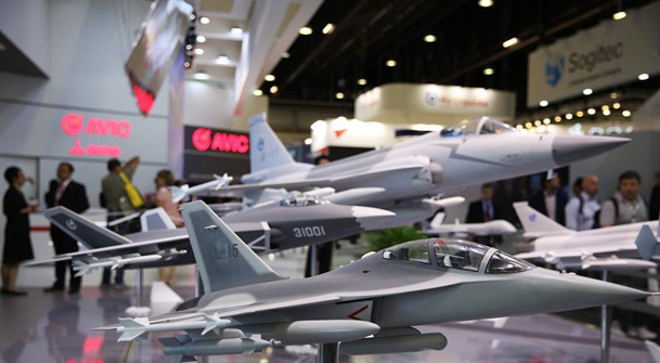 中國航空航天企業亮相巴黎航展