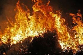美國加州山火肆虐