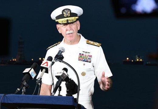 美國軍方稱發現部分失蹤船員遺體