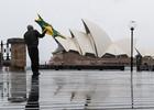 悉尼遭遇暴風雨襲擊 造成交通癱瘓