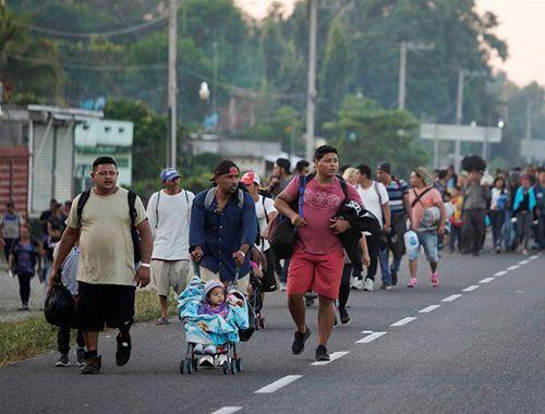 中美洲移民持續向美墨邊境挺進