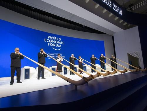 世界經濟論壇2019年會開幕 期待為全球化發展注入正能量
