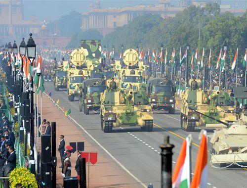 印度舉行閱兵式慶祝第70個共和國日