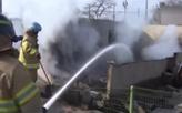 韓國強風致山火復燃