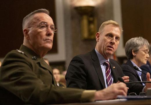"""美國參議院軍事委員會就籌建""""太空軍""""舉行聽證會"""