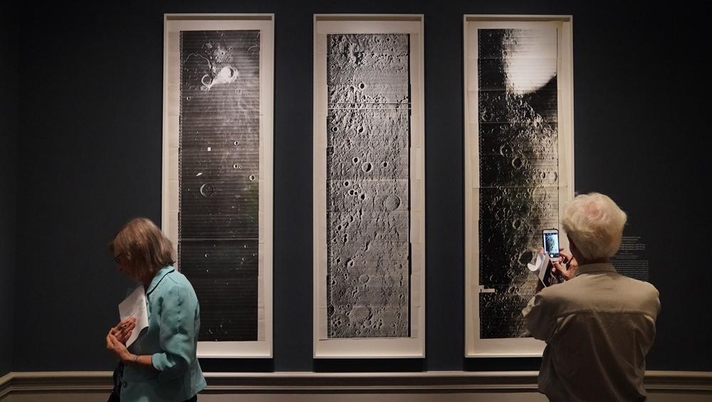"""""""銀色月光下:百年月球影像""""將在華盛頓展出"""