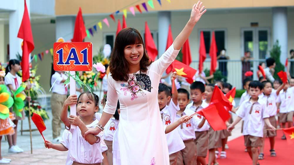 越南學生迎來新學年