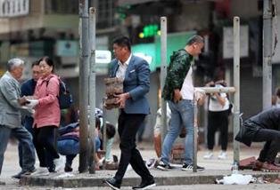 新華國際時評:煽動暴亂注定不得人心