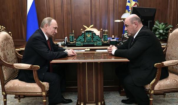 普京提名米舒斯京擔任俄新一屆政府總理